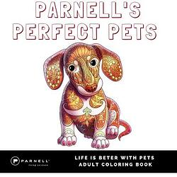 Parnell's Perfect Pets Coloring Book for Adults
